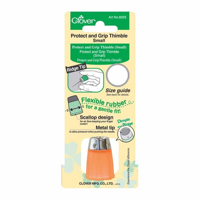 Protect and Grip Thimble - Small Size by Clover
