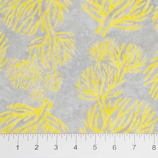 Nostalgic Vibes Batiks - Banyan Tree in Yellow by Banyan Batiks for Northcott