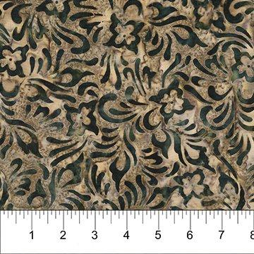 Alilah Batiks - Somya in Granite by Banyan Batiks for Northcott