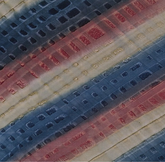 Color Me Banyan Batiks - Tread in Plum Blue by Banyan Batiks Studio for Northcott