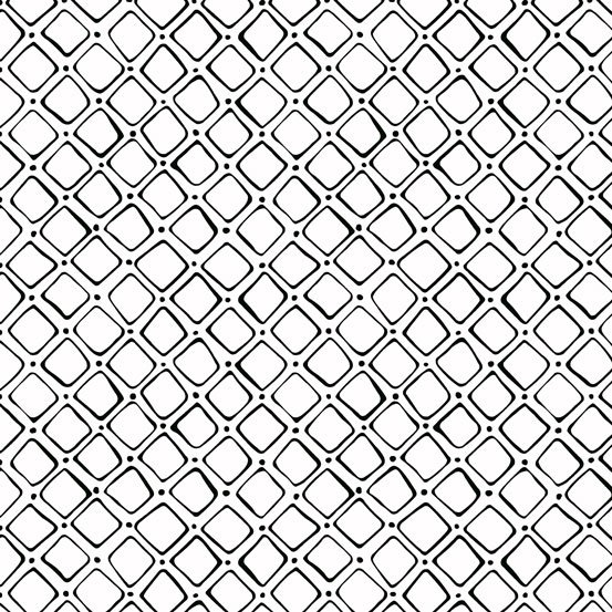 B & W - Large Squares on White by Kim Schaefer for Andover