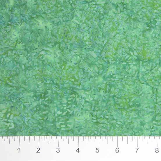Ketan Batiks - Texture in Green Envy by Banyan Batiks for Northcott