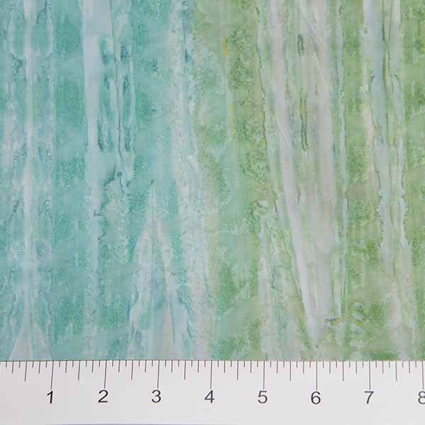 Brush Strokes Batiks - Ombre in Blue / Green by Banyan Batiks for Northcott