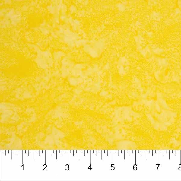 Shadow Batiks in Sunshine Yellow by Banyan Batiks for Northcott