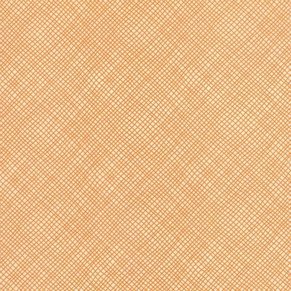 Perfectly Seasoned - Bias Plaid in Pumpkin by Sandy Gervais for Moda