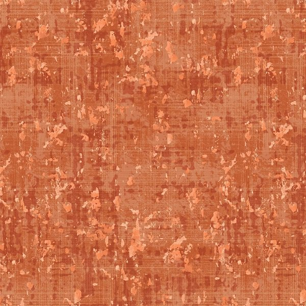 Pearl Luxe - Lemongrass Weave in Burnt Orange Pearlescent by Pattern Wheel Studio for Henry Glass