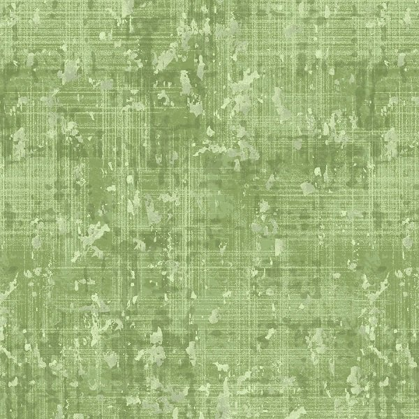 Pearl Luxe - Lemongrass Weave in Green Pearlescent by Pattern Wheel Studio for Henry Glass