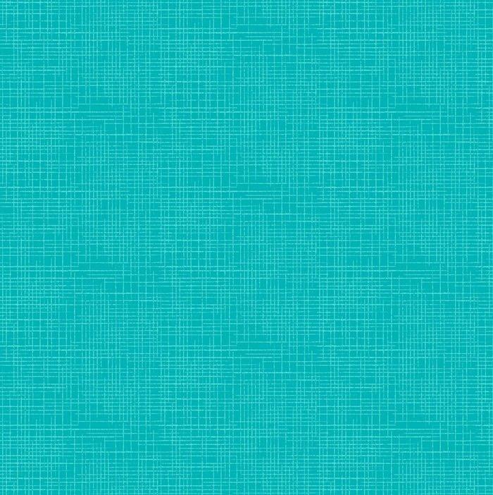 Dublin - Linen Texture in Bahama Breeze by Deborah Edwards for Northcott