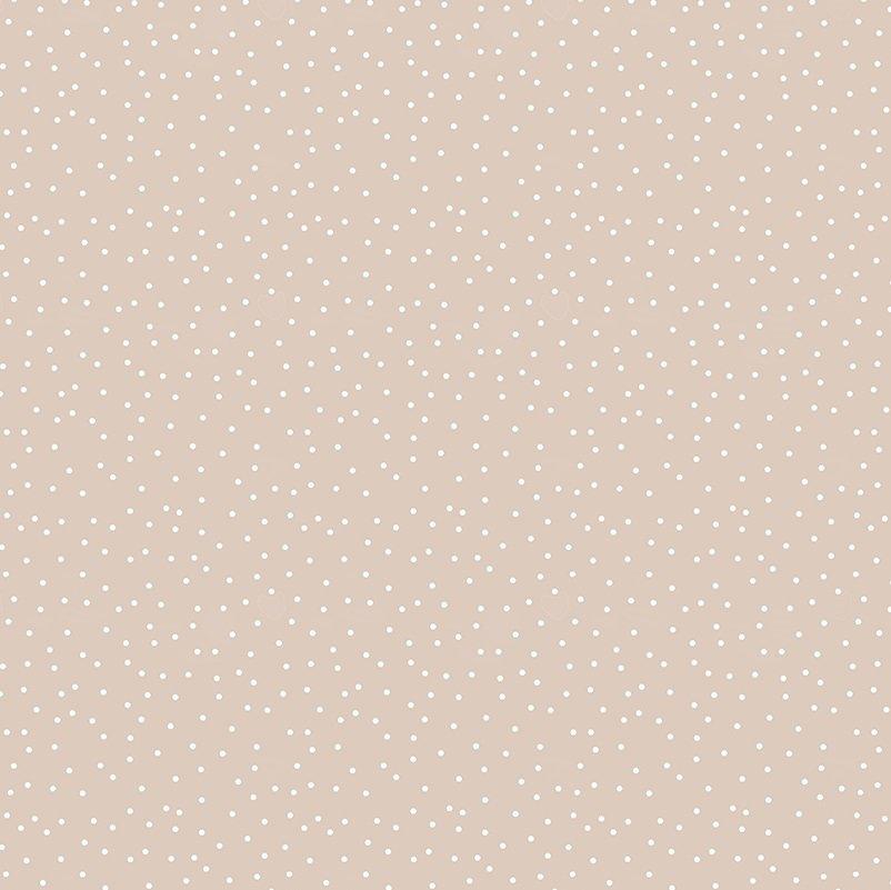 Serenity - Random Dots in Camel by Ghazal Razavi for Figo Fabrics