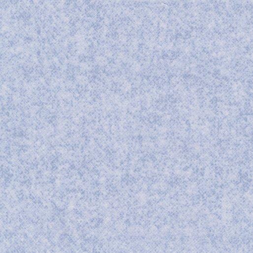 Winter Wool Flannel - Texture in Sky by Cheryl Haynes for Benartex