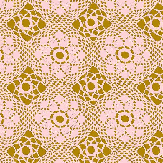 Handiwork - Crochet in Blush by Alison Glass for Andover