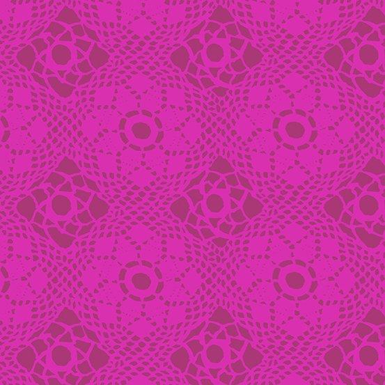 Handiwork - Crochet in Plum by Alison Glass for Andover
