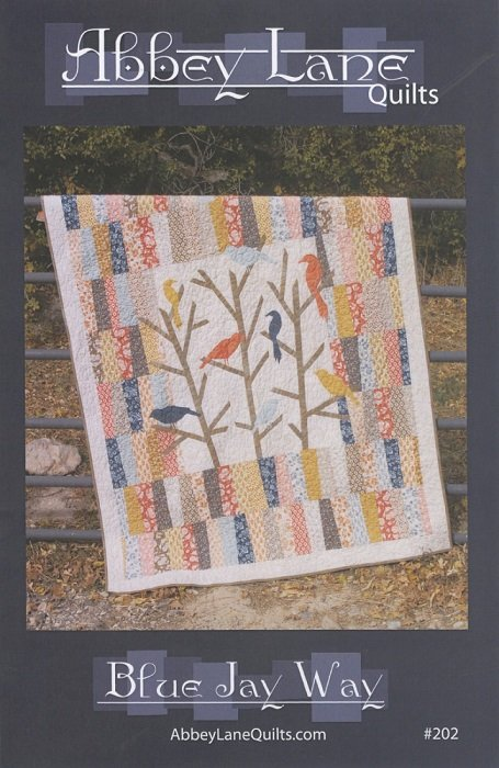 Pattern - Blue Jay Way (60 x 70)  by Marcea Owen and Janice Liljenquist from Abbey Lane Quilts