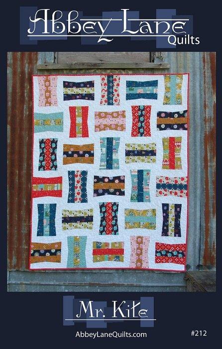 Pattern - Mr. Kite (55 x 65)  by Marcea Owen and Janice Liljenquist from Abbey Lane Quilts