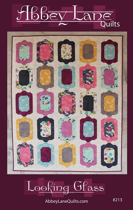 Pattern - Looking Glass (52 x 70) by Marcea Owen and Janice Liljenquist from Abbey Lane Quilts