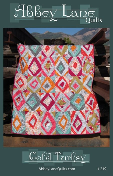 Pattern - Cold Turkey (60 x 75) by Marcea Owen and Janice Liljenquist from Abbey Lane Quilts