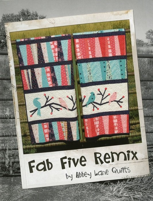 Book - Fab Five Remix from Abbey Lane Quilts
