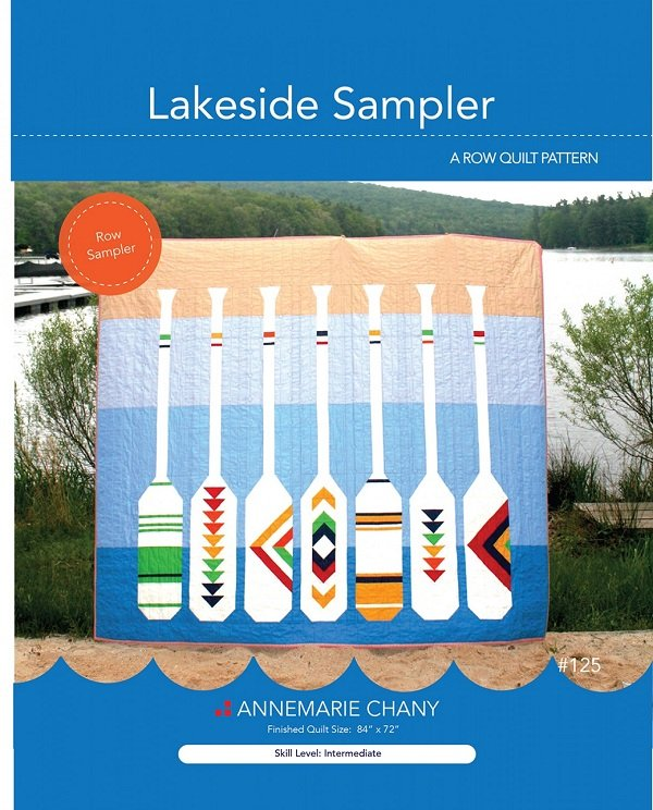 Pattern - Lakeside Sampler (84 x 72) by Annemarie Chany