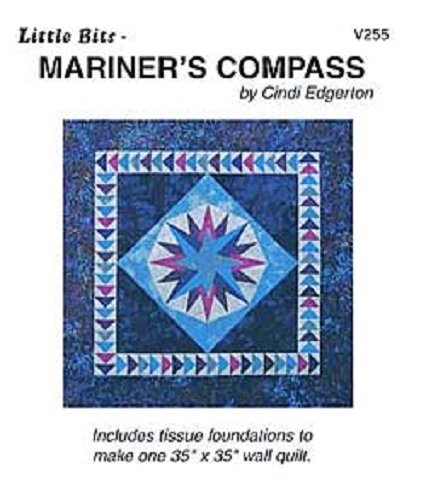 Pattern - Mariner's Compass (35 x 35) by Cindi Edgerton from A Very Special Collection