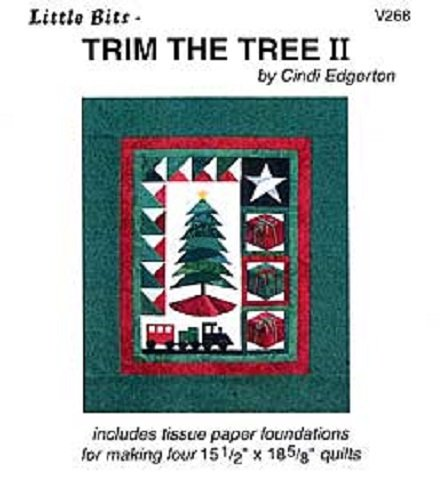 Pattern - Little Bits: Trim the Tree II by A Very Special Collection