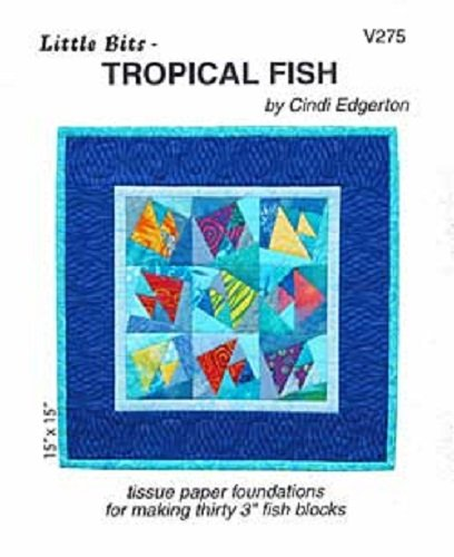 Pattern - Tropical Fish (15 x 15) by Cindi Edgerton from A Very Special Collection