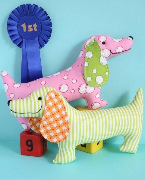 Pattern - Best in Show (10 long stuffed toy) by Jodie Carleton