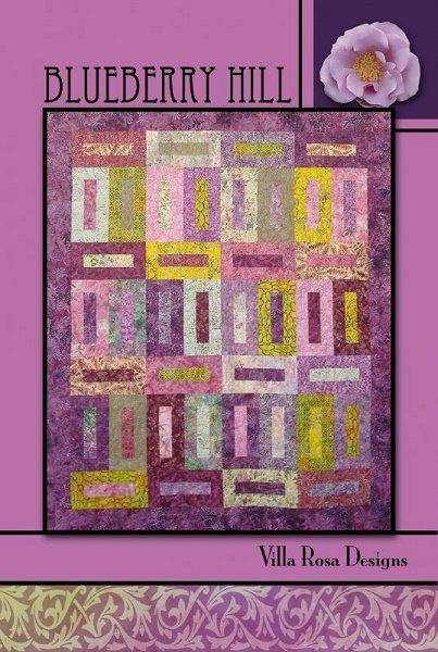 Blueberry Hill - A Villa Rosa Pattern (56 x 72)