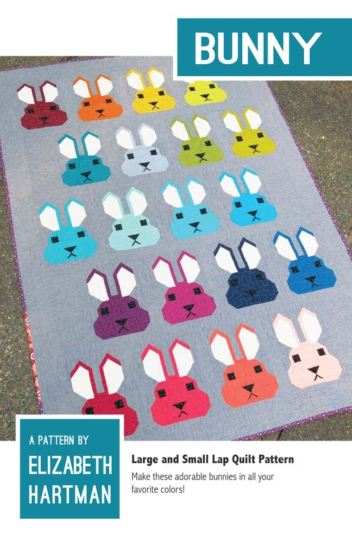 Pattern - Bunny (41 x 58 or 51 x 71) by Elizabeth Hartman