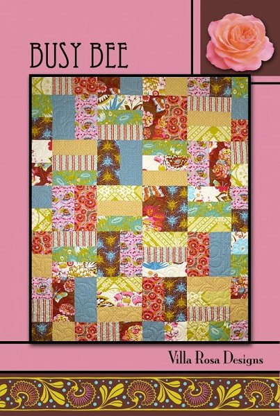 Busy Bee - A Villa Rosa Pattern (45 x 54)