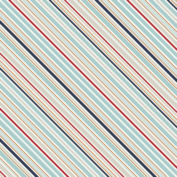 Game Day - Sports Stripes in Multi by Lori Whitlock for Riley Blake