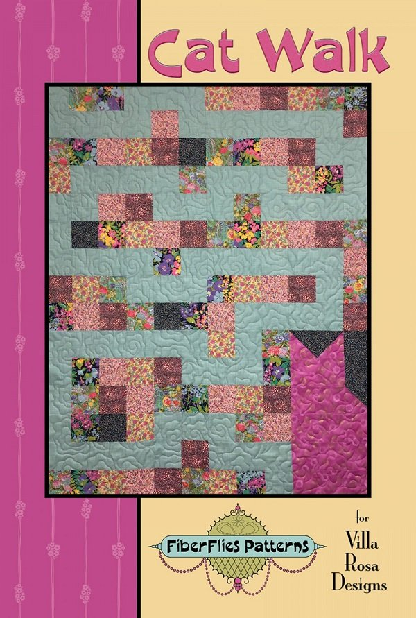 Cat Walk - A Villa Rosa Pattern (42 x 53)