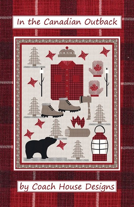 Pattern - In the Canadian Outback (56 x 72) by Barbara Cherniwchan from Coach House Designs