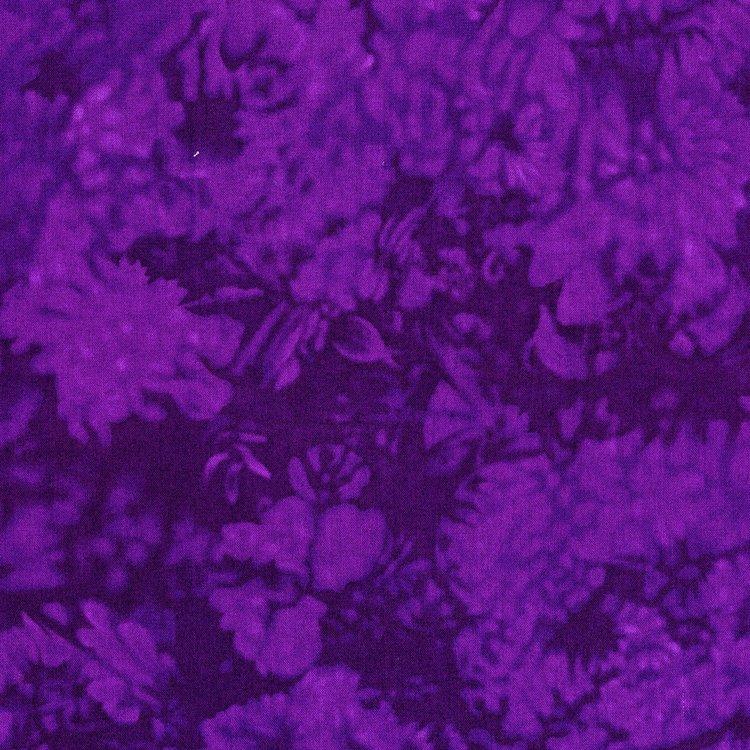 Handspray - Texture in Delphinium by RJR Fabrics
