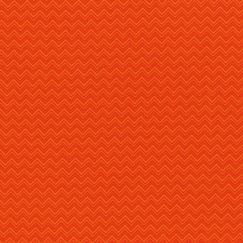Monster Trucks - Diggity Ziggity in Orange by Sue Marsh for RJR Fabrics