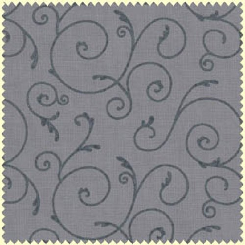 Pearl Essence - Filigree in Medium Grey by Maywood Studio