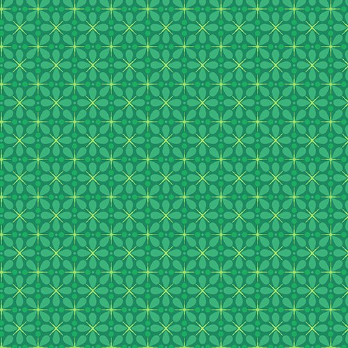 The Color Collection - Petal Tiles in Green by Modern Quilt Studio for Andover