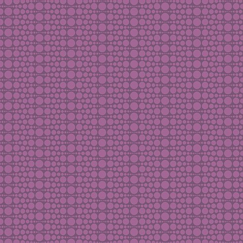 The Color Collection - Stacked Dot in Purple by Modern Quilt Studio