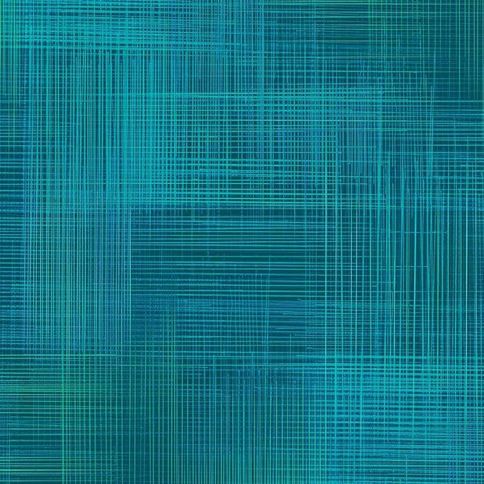 Dream Weaver - Texture in Peacock (Digital) by Deborah Edwards for Northcott