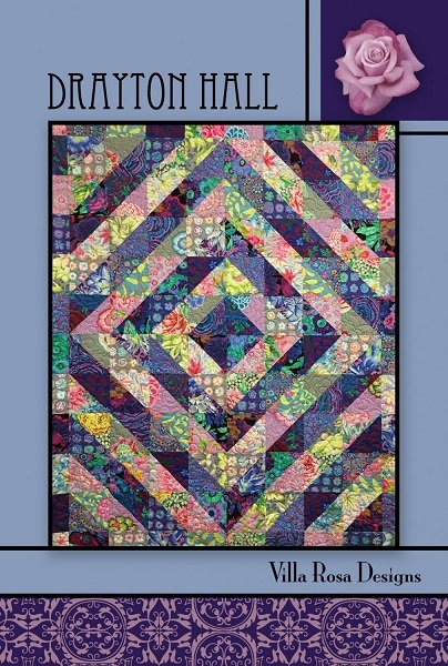Drayton Hall - A Villa Rosa Pattern (63 x 77)