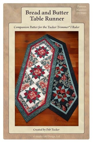 Pattern - Bread and Butter: Table Runner designed by Deb Tucker