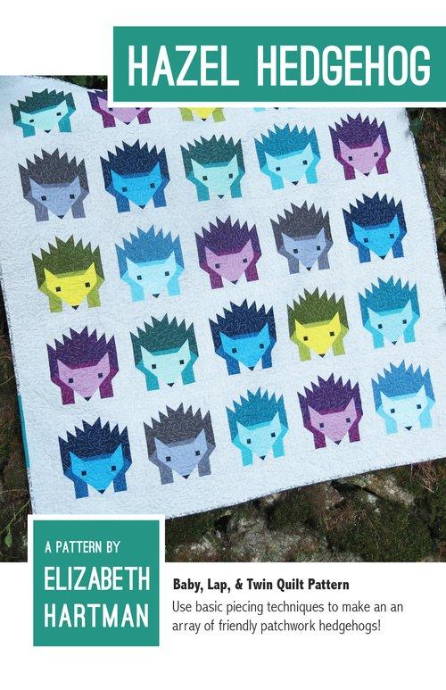 Pattern - Hazel Hedgehog (3 sizes included) by Elizabeth Hartman