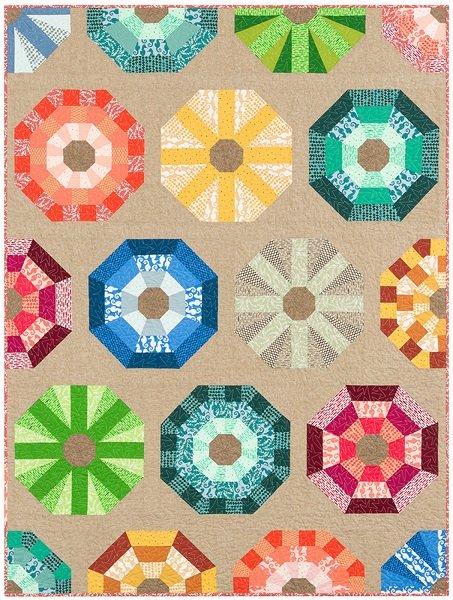 Pattern - Sea Urchins by Elizabeth Hartman