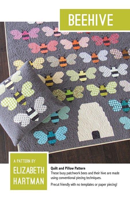 Pattern - Beehive (59 x 63 or 73 x 71) by Elizabeth Hartman
