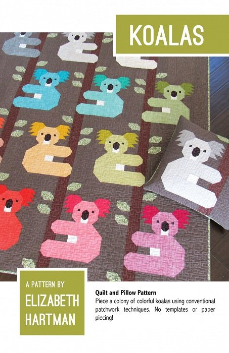 Pattern - Koalas (35 x 42 or 65 x 78) by Elizabeth Hartman