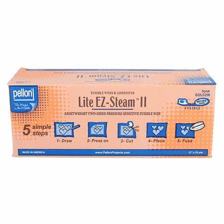 Fusible - EZ Steam II Lite (12 wide) by Pellon