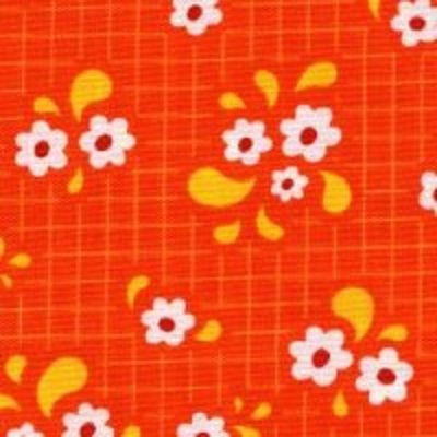 Best. Day. Ever! - Small Flower Grid by April Rosenthal for Moda