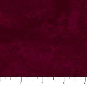 Toscana Flannel in Cabernet by Deborah Edwards for Northcott