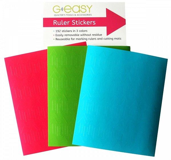 GEasy Ruler Stickers by G. E. Designs