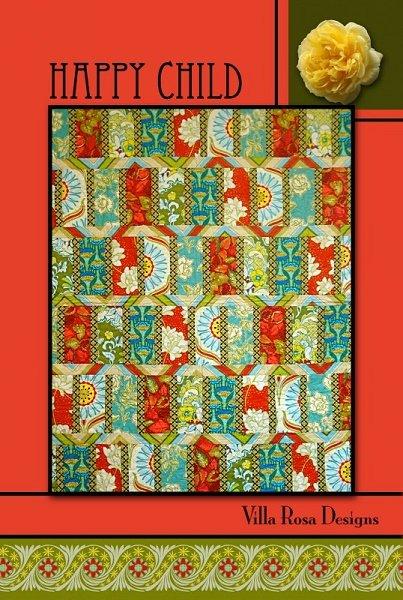 Happy Child - A Villa Rosa Pattern (43 x 56)