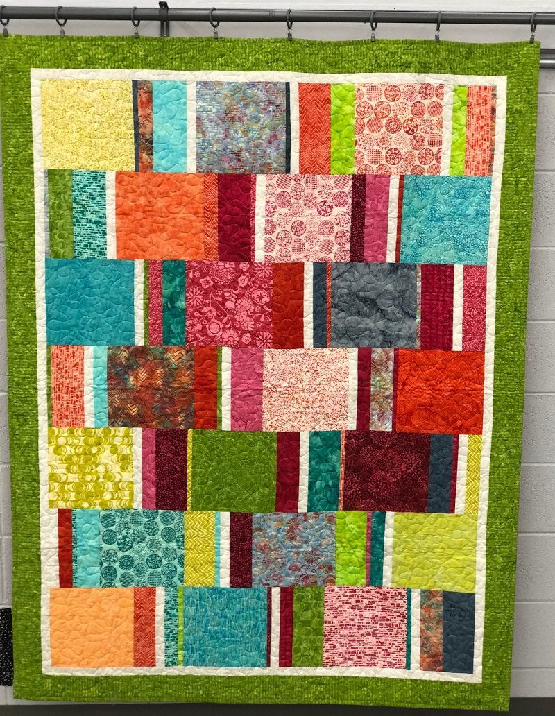 Quilt for Sale - Hot Tub Time Machine (55 x 70)